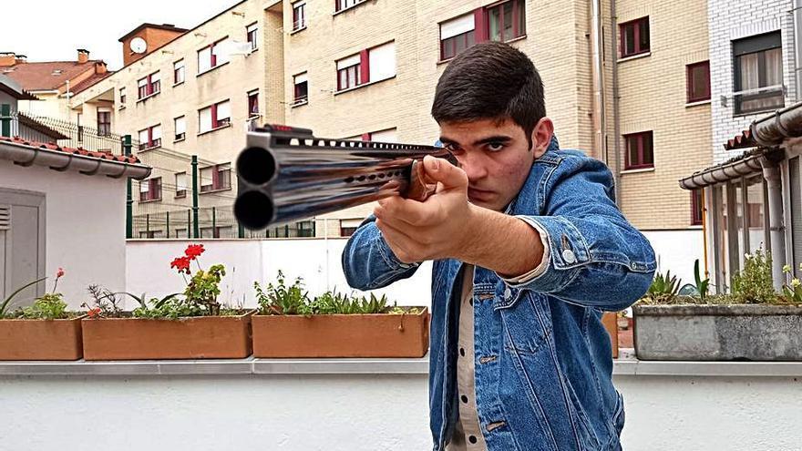 Samuel Cueva, en la élite europea del tiro al plato