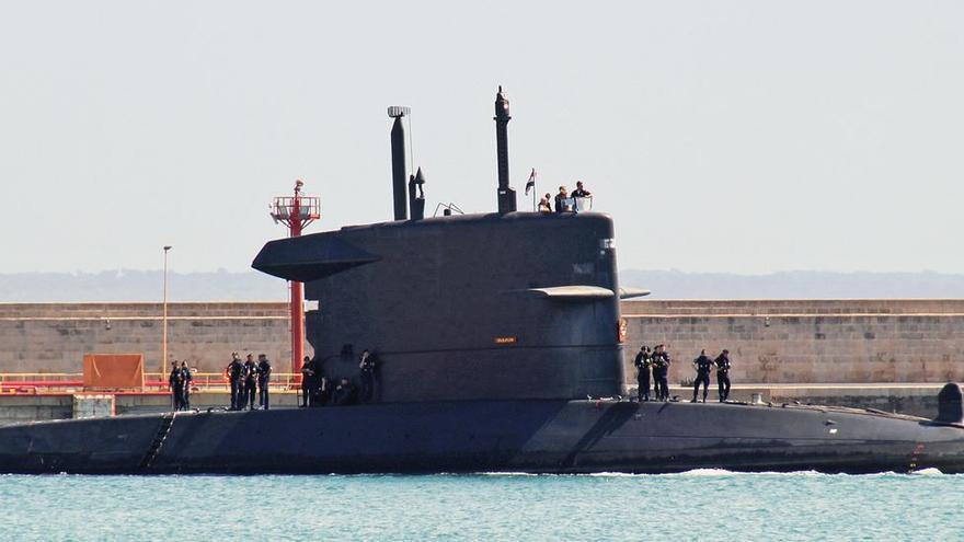 Holländisches U-Boot besucht Mallorca