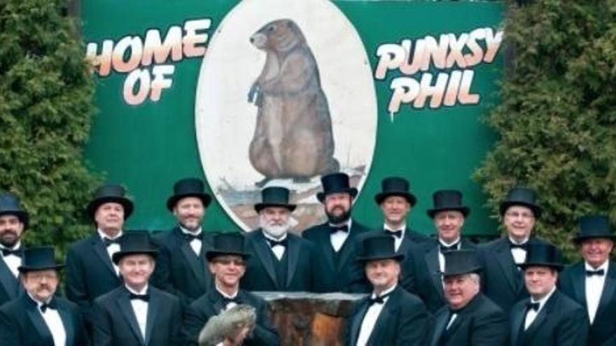La marmota Phil augura un invierno seis semanas más largo