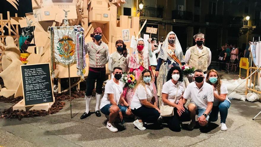 Foios participó en la ofrenda de València
