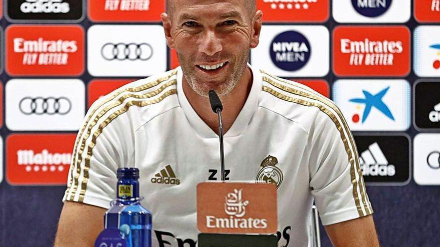 """Zidane: """"Es la semana más difícil"""""""