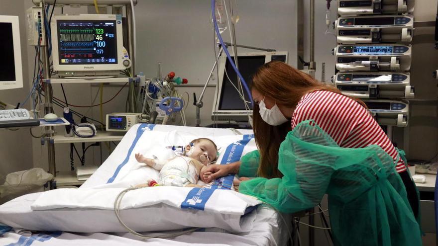 Transplanten el fetge d'una menor d'edat a dues nenes: una de 8 mesos i una de 13 anys