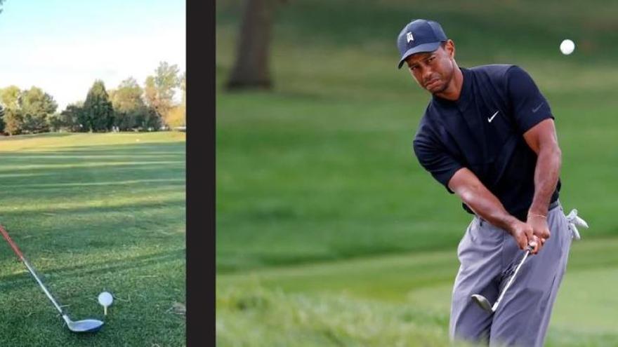 ¿El nuevo Tiger Woods? El golpe del niño más viral en las redes