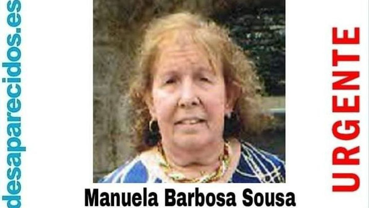 La mujer permanece desaparecida desde hace dos días.