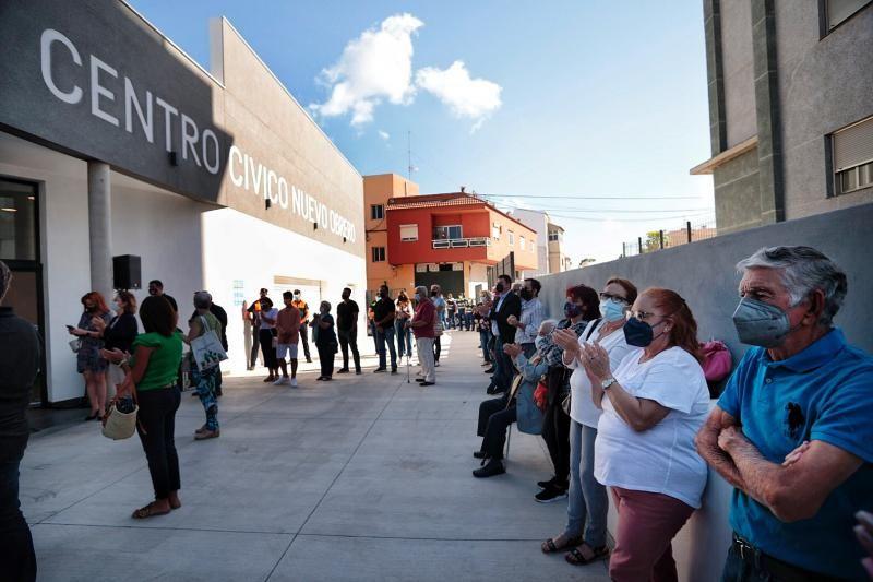 Apertura del Centro Cívico Nuevo Obrero