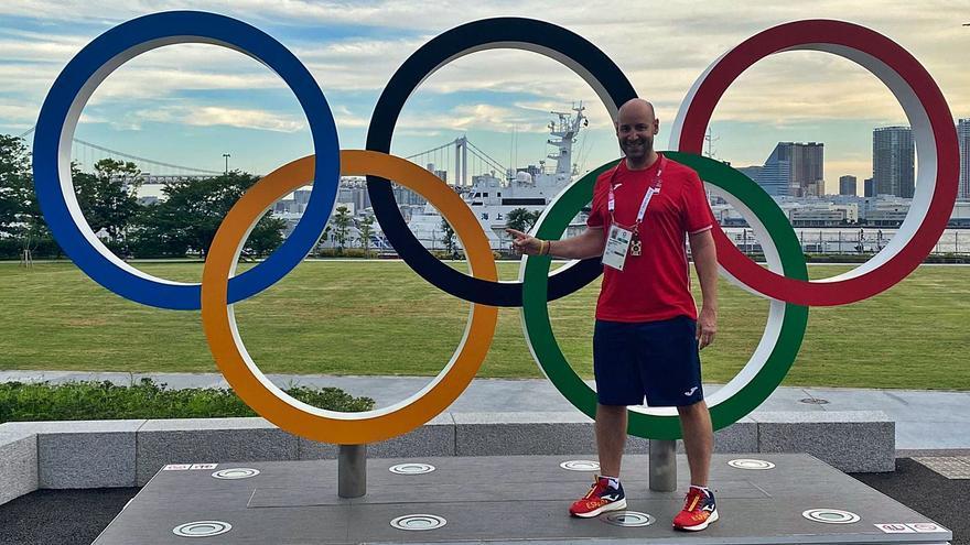 El sueño olímpico de un vilagarciano hecho realidad