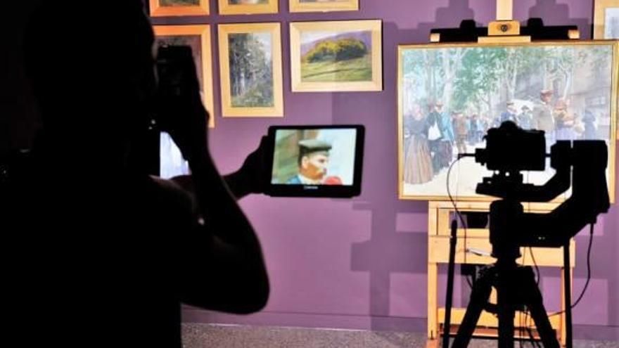 Digitalitzen deu quadres del Museu de l'Empordà