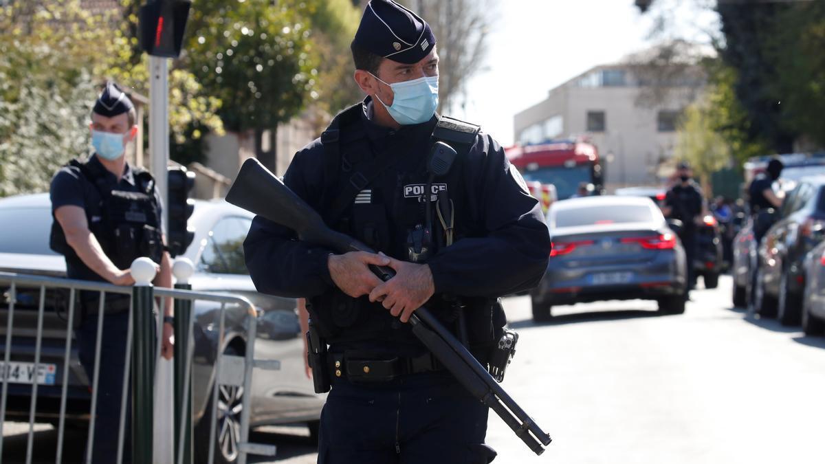 Un agente de Policía en París