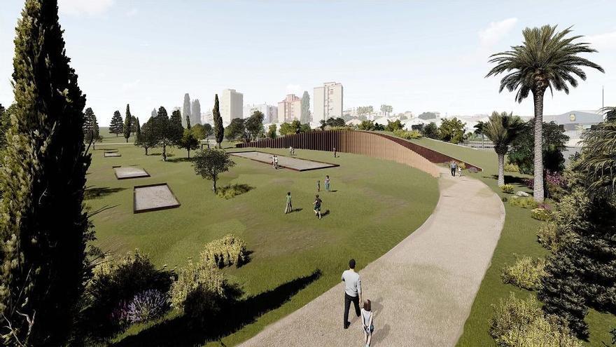 Málaga culmina los trámites para terminar el parque de San Rafael