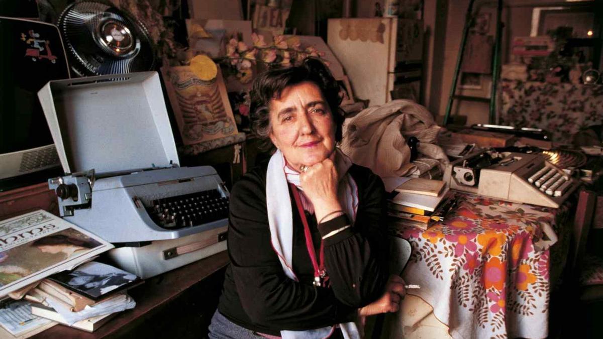 Alda Merini fue una de las grandes poetas italianas del pasado siglo XX.