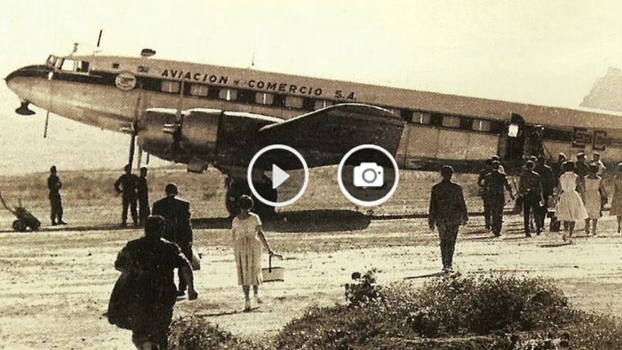 """El vuelo perdido de Vigo que conmocionó a España y acabó en la """"Mujer Muerta"""""""