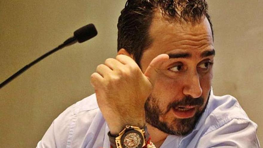 Víctor Aldama, presidente del Zamora CF. | LOZ