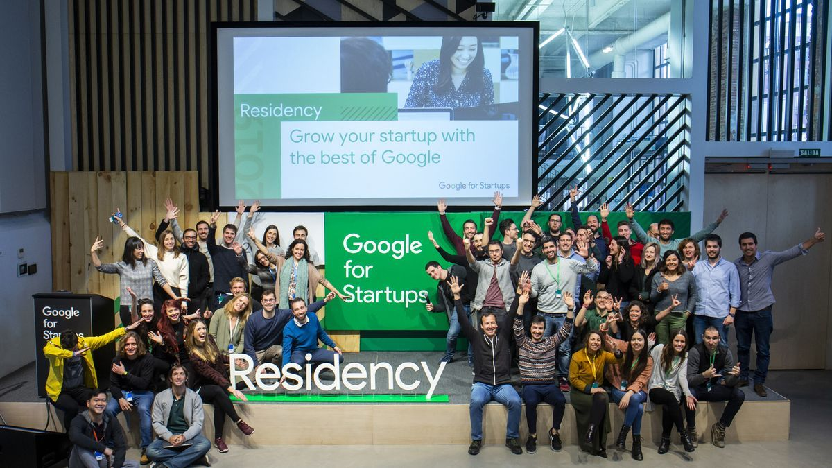Participantes en el programa de Google for startups.