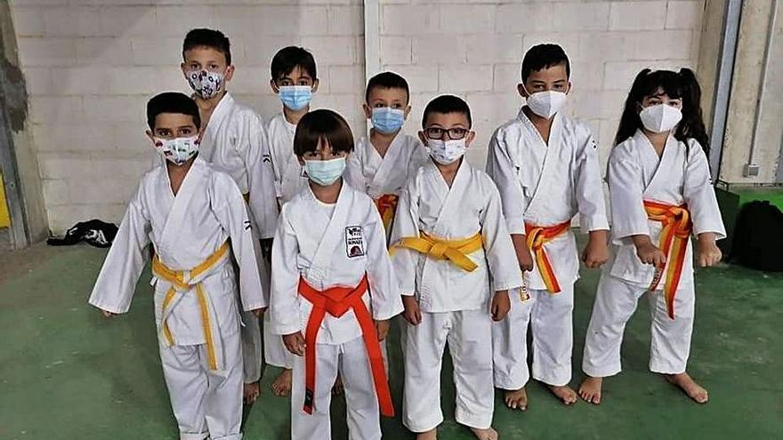 Seis medallas para el Karate Sonkei