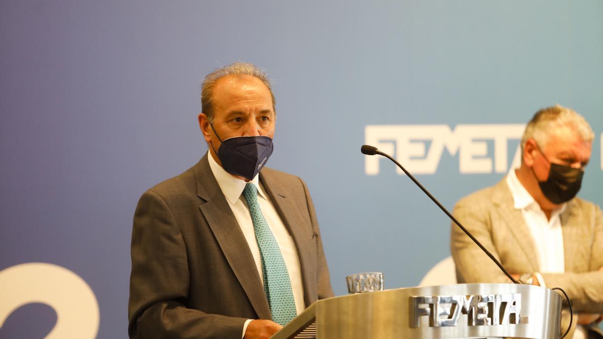 Asamblea de la patronal del metal en Asturias (Femetal)