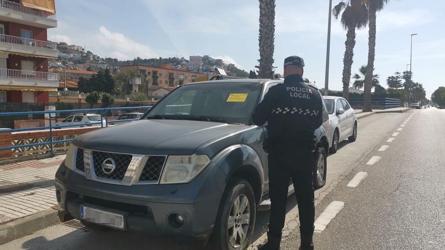 La Policía Local de Rincón retira en 10 días 55 vehículos abandonados en la calle