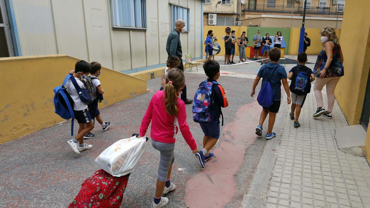 Las aulas, cada vez más seguras