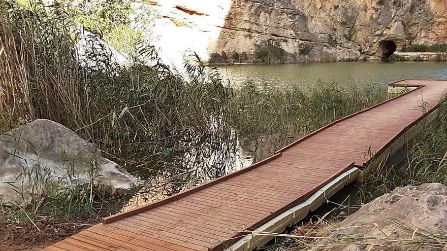La ruta de los Calderones de Chulilla ya es accesible