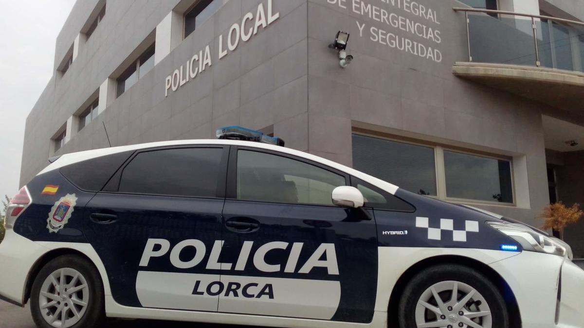 Vehículo de la Policía Local de Lorca.