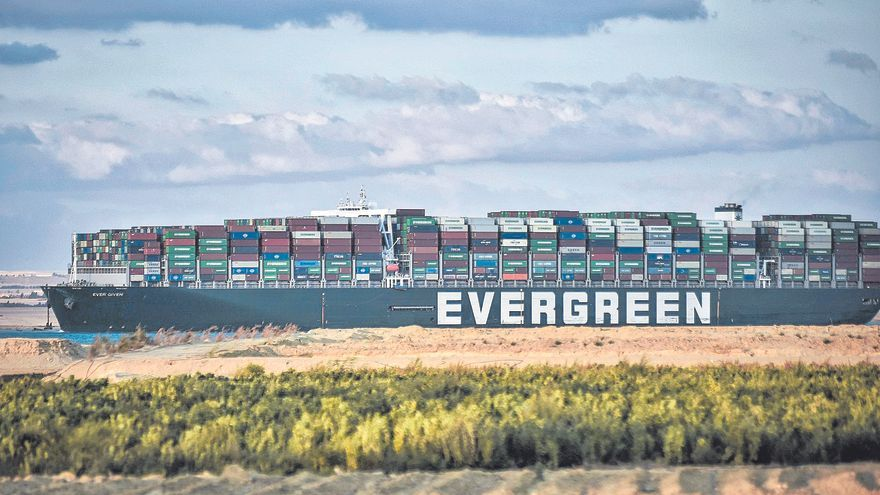 El canal de Suez, un talón de Aquiles del mundo global