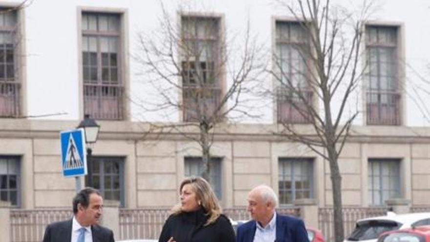 Varios políticos asturianos declaran en los juzgados de Lugo