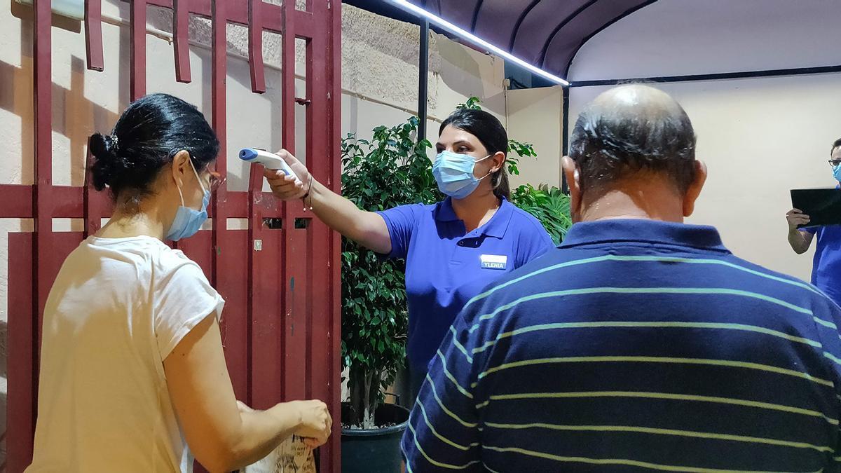 Acceso a uno de los eventos organizados por Tarsa durante la crisis sanitaria