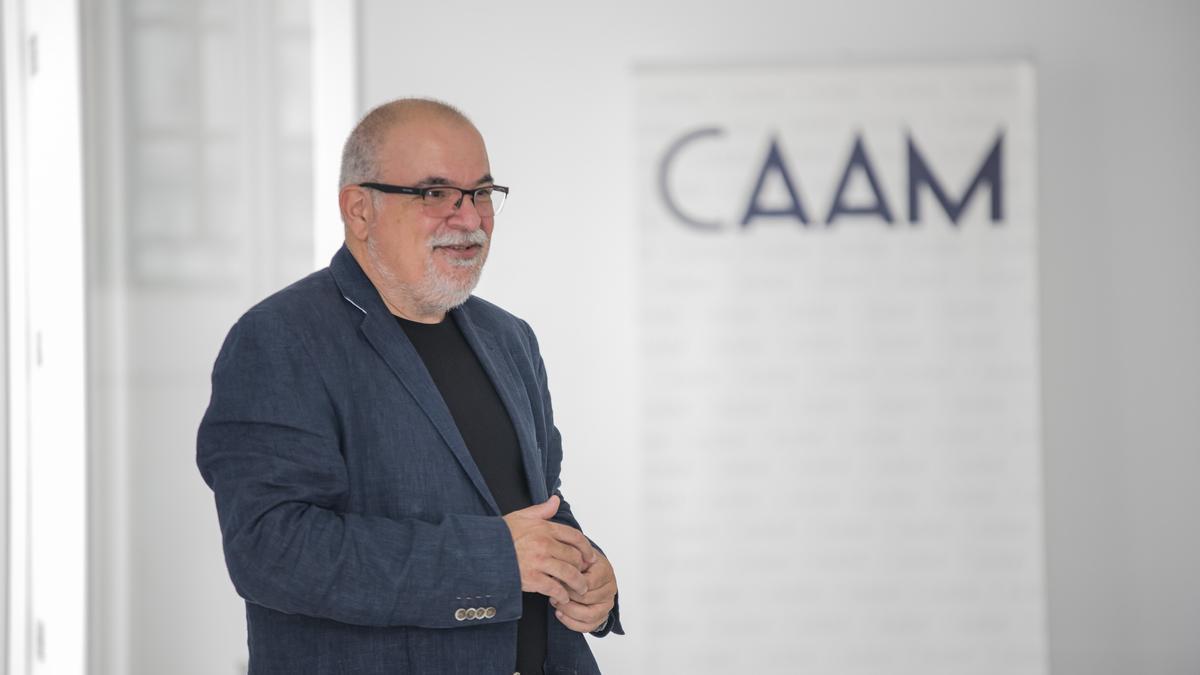 El director artístico del CAAM, Orlando Britto Jinorio