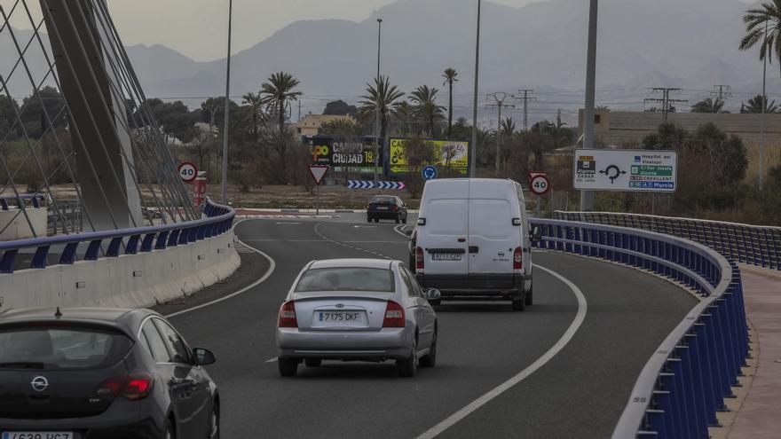 El alcalde de Elche pide a Ximo Puig que financie el final de la Ronda Sur bloqueada en Madrid seis años