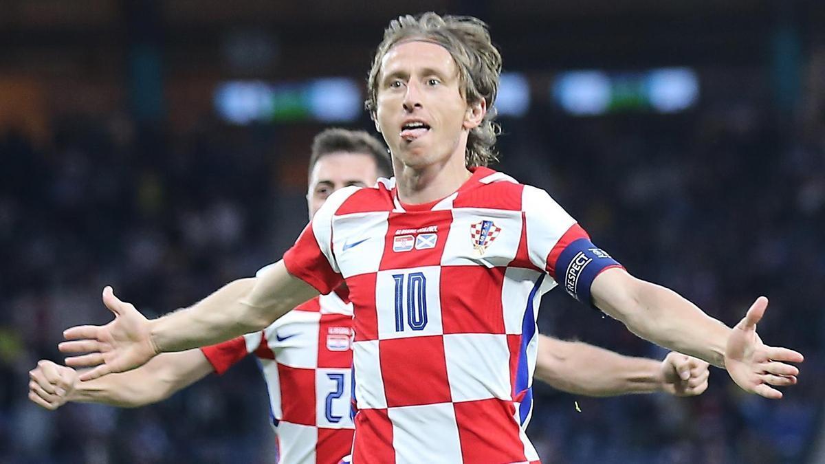 Luka Modric, jugador del Real Madrid y capitán de la selección croata