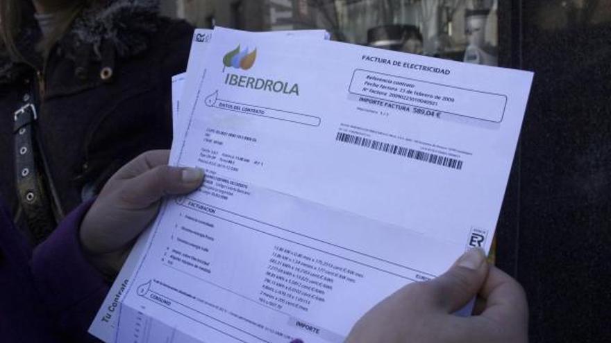El recibo de la luz sube casi tres euros de media en octubre en Zamora