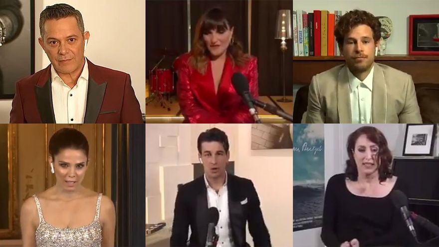 Goya 2021: Los looks de la alfombra roja virtual
