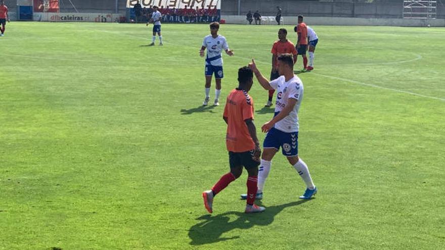El CD Tenerife pierde su tercer amistoso ante el Sporting Braga