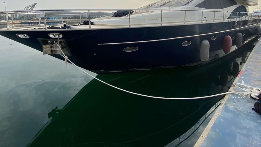 Detenido in fraganti en Valencia cuando robaba un barco para llegar a Ibiza