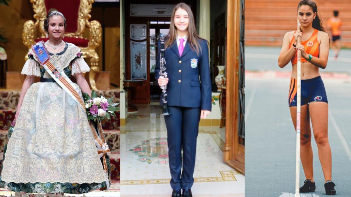Blanca Casabán, en 2018, 2020 y 2021.