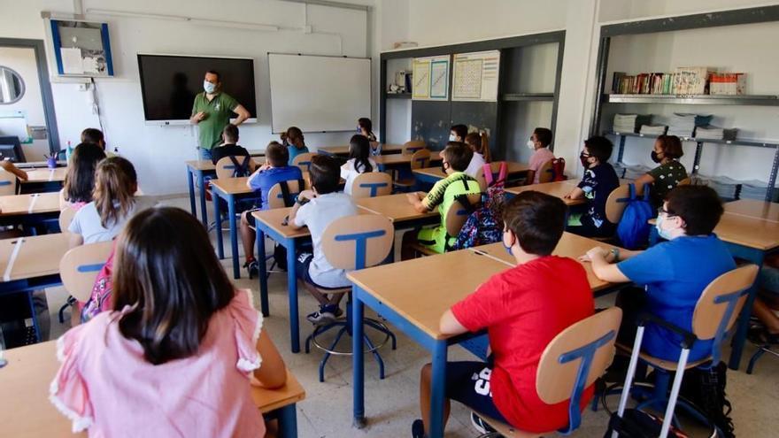 Medidas anticovid para vuelta al cole en Andalucía