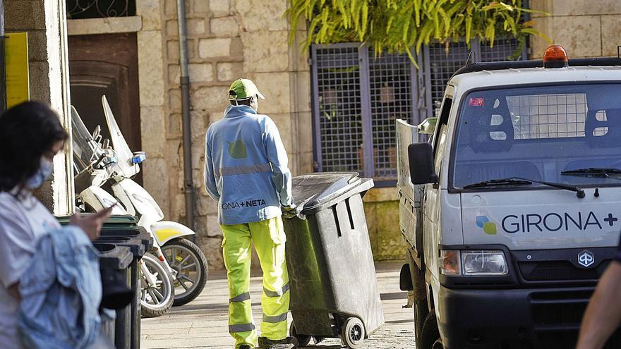 Dissabte finalitza el contracte del servei de neteja municipal Girona + Neta