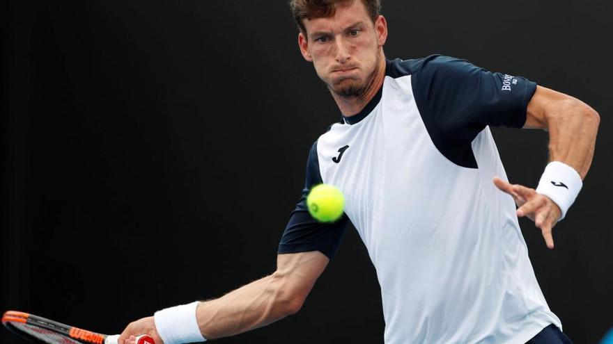 Pablo Carreño sufre para pasar de ronda en el Open de Australia