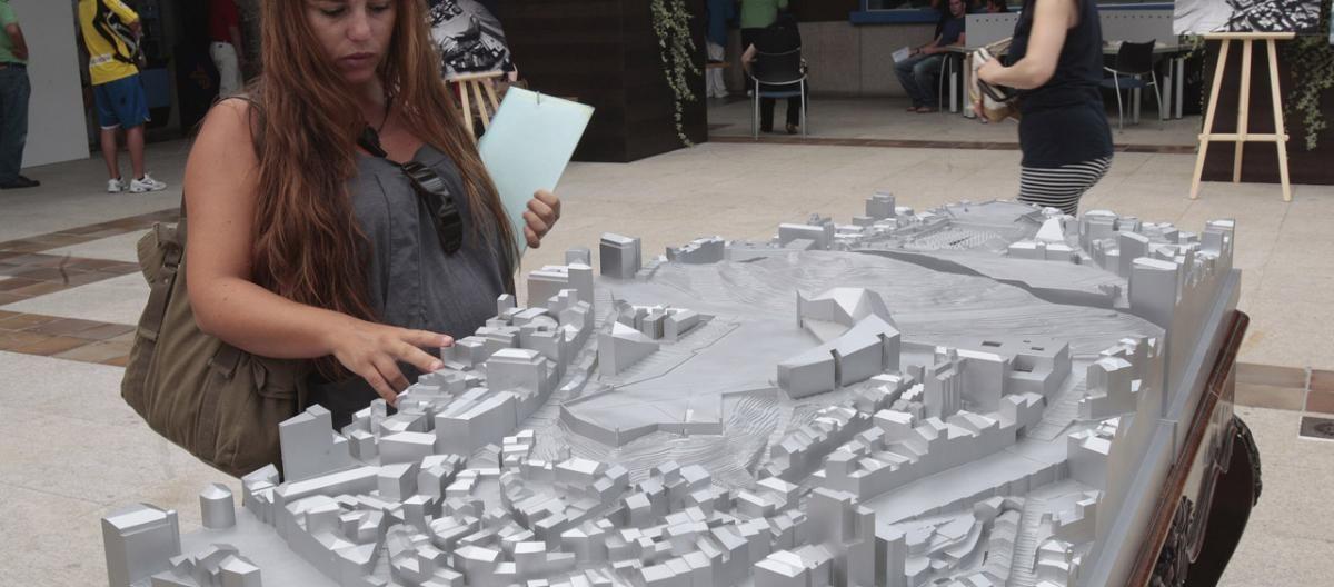 Un cambio radical de Praza do Rei y los edificios municipales