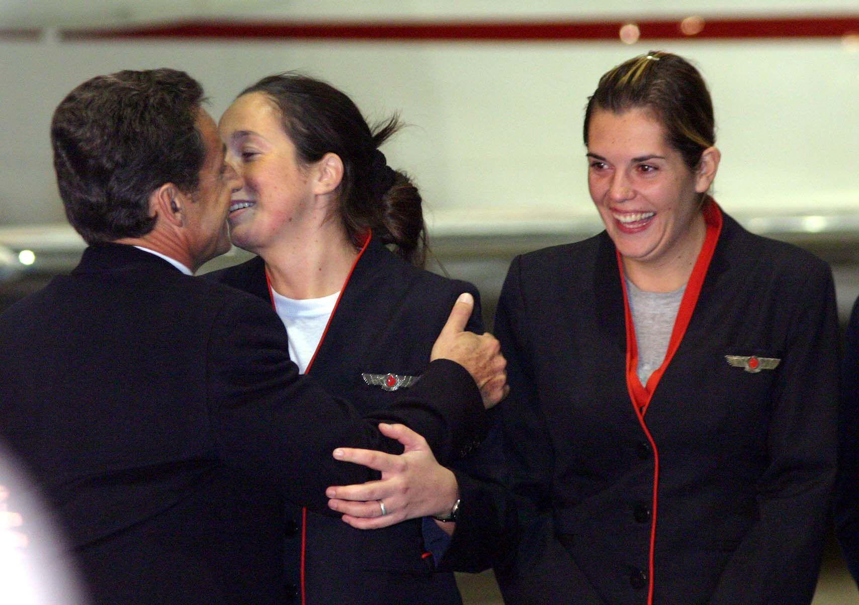 Tatiana saludada por Nicol�s Sarkozy.jpg
