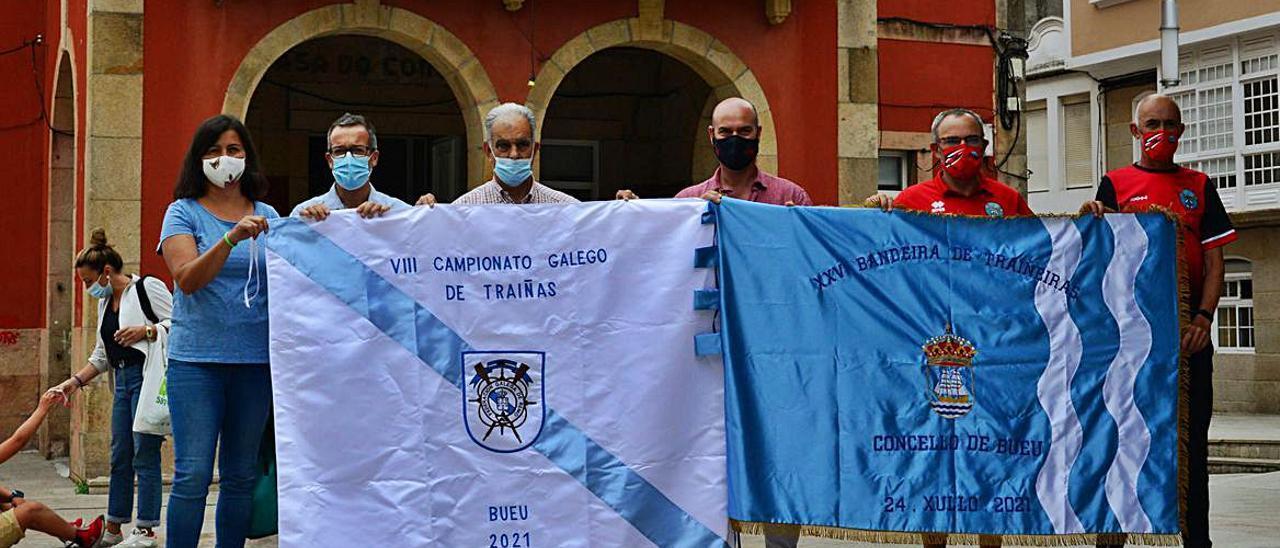 La presentación de la XXVI Bandeira Concello de Bueu.
