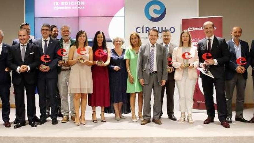 Patricia García recibe el galardón a la mejor ejecutiva del año en Galicia