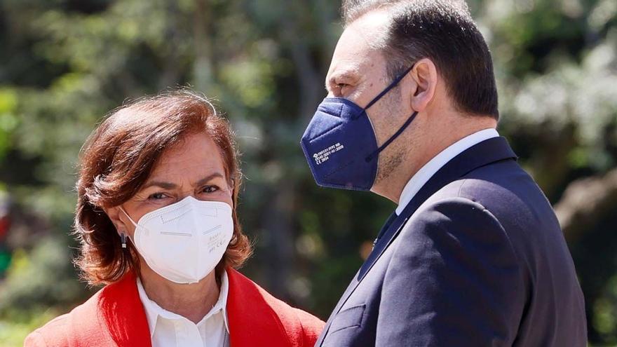 Sánchez intenta compensar a Calvo y Ábalos con las comisiones de Igualdad e Interior en el Congreso