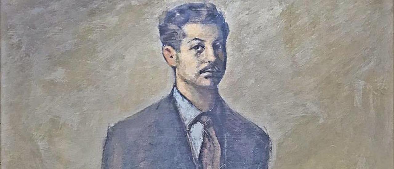 El retrato de Julio Magdalena pintado por Marola.
