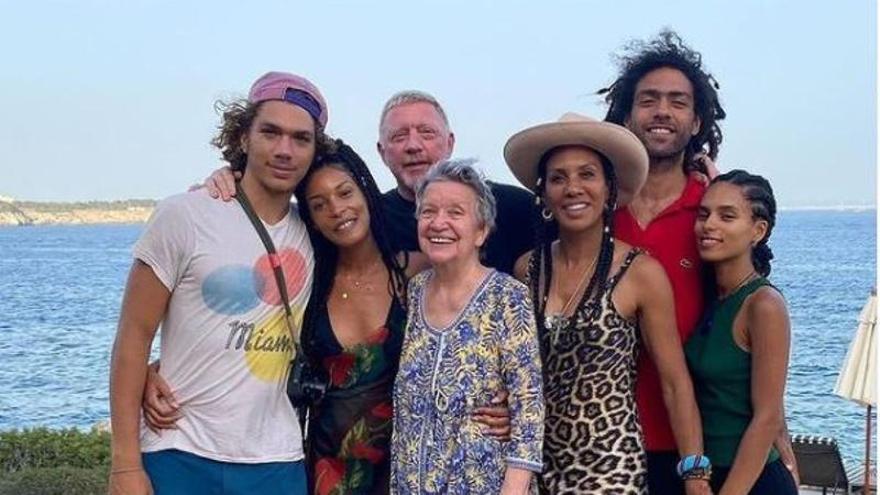 Boris Becker freut sich auf Mallorca über den Zusammenhalt seiner Patchwork-Familie