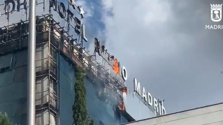 Incendi sense ferits en un hotel de Madrid