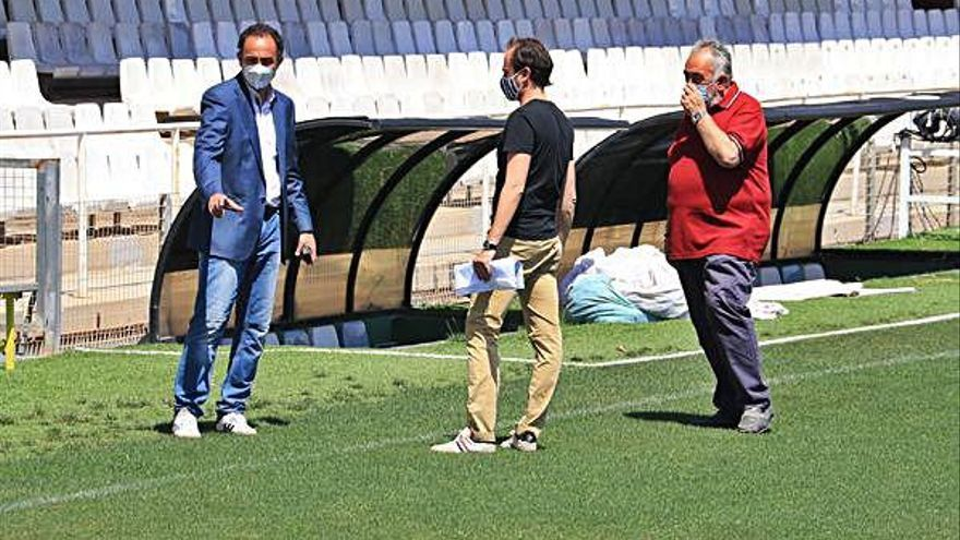 El Cartagena pide a la Liga empezar fuera de casa la próxima temporada