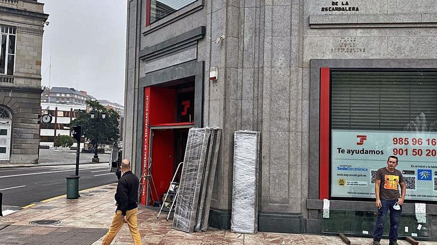 La Seguridad Social ultima las obras en su edificio de la Escandalera