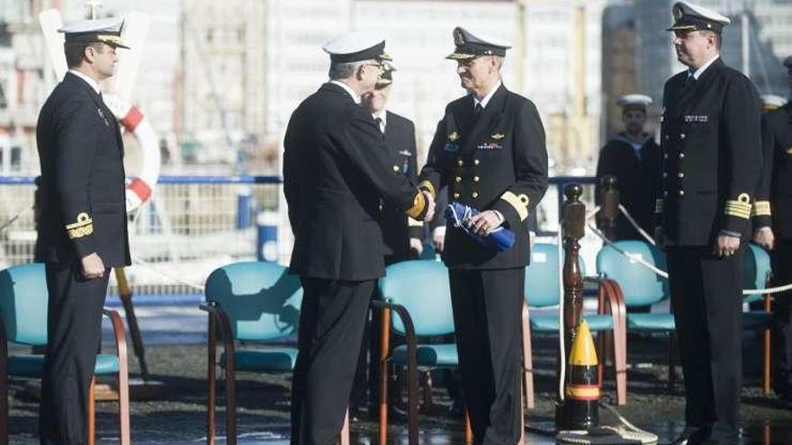 España cede en A Coruña a Noruega el mando de la misión naval permanente de la OTAN