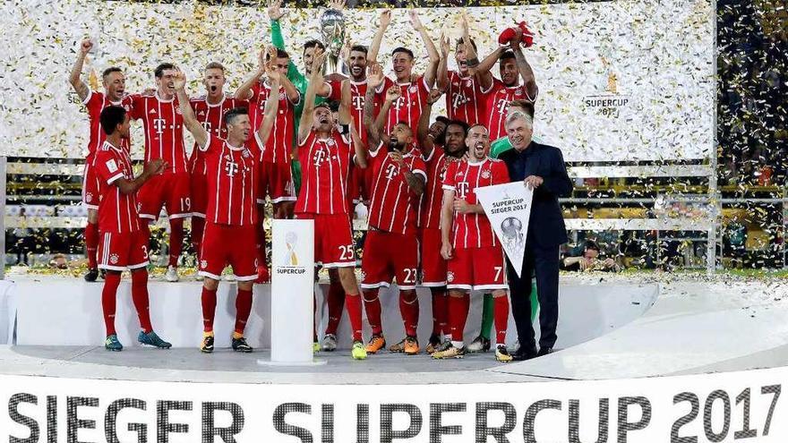 El Bayern conquista la Supercopa alemana en los penaltis