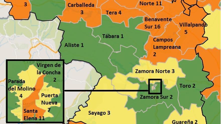 Empeora la pandemia COVID en Zamora capital y Benavente